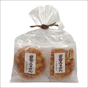 鎌田さんの味噌せんべい