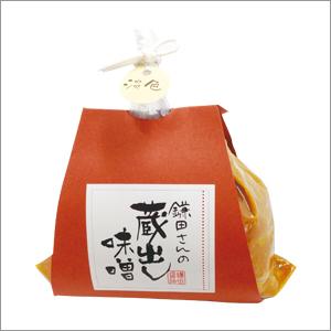 鎌田さんの蔵出し淡色味噌